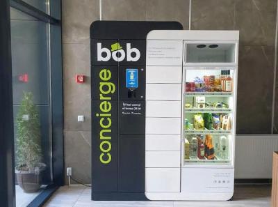 Finanțare de 6 milioane euro pentru Bob Concierge, mini-shop automat românesc