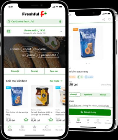 eMag lansează Freshful, o băcănie online cu livrare rapidă pentru cumpărături...